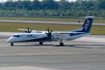 delawakaさんが、熊本空港で撮影したANAウイングス DHC-8-402Q Dash 8の航空フォト(写真)