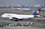 kurubouzuさんが、羽田空港で撮影したルフトハンザドイツ航空 747-830の航空フォト(写真)