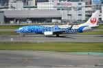 kiraboshi787さんが、福岡空港で撮影した日本トランスオーシャン航空 737-8Q3の航空フォト(写真)