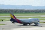 pringlesさんが、ウィーン国際空港で撮影したアシアナ航空 747-48EM(BDSF)の航空フォト(写真)