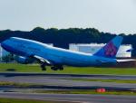 万華鏡AIRLINESさんが、成田国際空港で撮影したチャイナエアライン 747-409の航空フォト(写真)