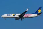 みぐさんが、羽田空港で撮影したスカイマーク 737-86Nの航空フォト(写真)