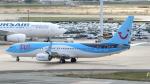誘喜さんが、パリ オルリー空港で撮影したトゥイ・エアラインズ・ベルギー 737-8K5の航空フォト(写真)