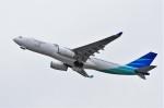 mild lifeさんが、関西国際空港で撮影したガルーダ・インドネシア航空 A330-243の航空フォト(写真)