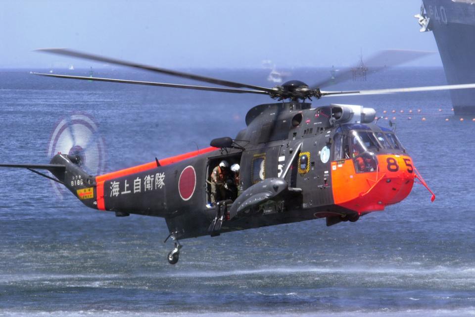 senyoさんの海上自衛隊 Mitsubishi S-61 (8185) 航空フォト