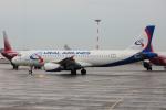 yabyanさんが、プルコヴォ空港で撮影したウラル航空 A320-232の航空フォト(飛行機 写真・画像)