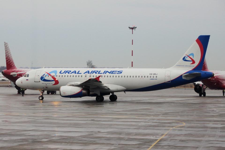 yabyanさんのウラル航空 Airbus A320 (VQ-BGJ) 航空フォト