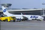 yabyanさんが、ドモジェドヴォ空港で撮影したUTエア・アビエーション 737-8ASの航空フォト(写真)
