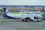 yabyanさんが、ドモジェドヴォ空港で撮影したウラル航空 A320-214の航空フォト(写真)