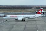 yabyanさんが、ドモジェドヴォ空港で撮影したスイスインターナショナルエアラインズ BD-500-1A11 CSeries CS300の航空フォト(写真)