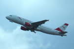 yabyanさんが、ドモジェドヴォ空港で撮影したオーストリア航空 A320-216の航空フォト(飛行機 写真・画像)