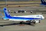 蒲田賢二さんが、羽田空港で撮影した全日空 A321-272Nの航空フォト(写真)