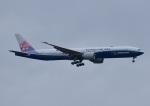じーく。さんが、新千歳空港で撮影したチャイナエアライン 777-309/ERの航空フォト(飛行機 写真・画像)