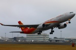 Kuuさんが、鹿児島空港で撮影した香港航空 A330-343Xの航空フォト(飛行機 写真・画像)