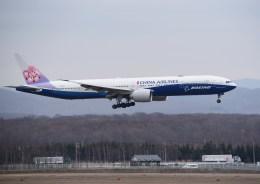 kumagorouさんが、新千歳空港で撮影したチャイナエアライン 777-309/ERの航空フォト(飛行機 写真・画像)