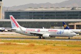 islandsさんが、マラガ空港で撮影したエア・ヨーロッパ 737-85Pの航空フォト(飛行機 写真・画像)