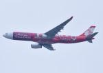 じーく。さんが、新千歳空港で撮影したエアアジア・エックス A330-343Xの航空フォト(飛行機 写真・画像)