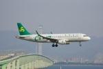 てつさんが、関西国際空港で撮影した春秋航空 A320-214の航空フォト(写真)