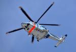 チャーリーマイクさんが、成田国際空港で撮影した千葉県警察 AW139の航空フォト(写真)