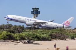 Y-Kenzoさんが、シドニー国際空港で撮影したチャイナエアライン A350-941の航空フォト(飛行機 写真・画像)