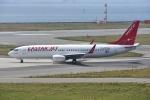 よしポンさんが、関西国際空港で撮影したイースター航空 737-8BKの航空フォト(写真)