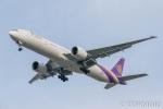遠森一郎さんが、福岡空港で撮影したタイ国際航空 777-3AL/ERの航空フォト(写真)