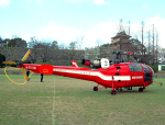 チャーリーマイクさんが、福岡空港で撮影した福岡市消防局消防航空隊 SA-316B Alouette IIIの航空フォト(写真)