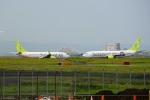レドームさんが、羽田空港で撮影したソラシド エア 737-86Nの航空フォト(写真)