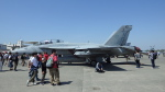 SVMさんが、厚木飛行場で撮影したアメリカ海軍 F/A-18F Super Hornetの航空フォト(写真)