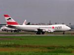 エルさんが、成田国際空港で撮影した日本ユニバーサル航空 747-221F/SCDの航空フォト(写真)