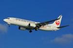 HISAHIさんが、那覇空港で撮影した日本トランスオーシャン航空 737-8Q3の航空フォト(写真)