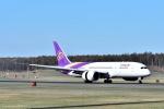 バーダーさんが、新千歳空港で撮影したタイ国際航空 787-8 Dreamlinerの航空フォト(写真)