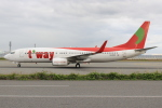 キイロイトリさんが、関西国際空港で撮影したティーウェイ航空 737-8Q8の航空フォト(写真)