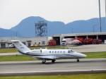 まーたんさんが、高松空港で撮影した毎日新聞社 525A Citation CJ2の航空フォト(写真)