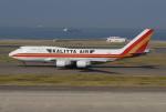 きんめいさんが、中部国際空港で撮影したカリッタ エア 747-446(BCF)の航空フォト(写真)
