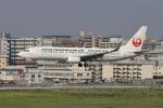 sumihan_2010さんが、福岡空港で撮影した日本トランスオーシャン航空 737-8Q3の航空フォト(写真)