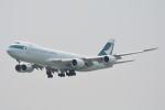 LEGACY-747さんが、香港国際空港で撮影したキャセイパシフィック航空 747-867F/SCDの航空フォト(写真)