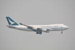 LEGACY-747さんが、香港国際空港で撮影したキャセイパシフィック航空 747-467F/ER/SCDの航空フォト(写真)