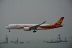 LEGACY-747さんが、香港国際空港で撮影した香港航空 A350-941XWBの航空フォト(飛行機 写真・画像)