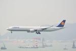LEGACY-747さんが、香港国際空港で撮影したルフトハンザドイツ航空 A340-642の航空フォト(写真)