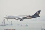 LEGACY-747さんが、香港国際空港で撮影したUPS航空 747-44AF/SCDの航空フォト(飛行機 写真・画像)