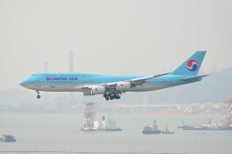 LEGACY-747さんが、香港国際空港で撮影した大韓航空 747-8B5の航空フォト(写真)