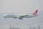 LEGACY-747さんが、香港国際空港で撮影したターキッシュ・エアラインズ 777-3F2/ERの航空フォト(写真)
