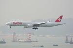 LEGACY-747さんが、香港国際空港で撮影したスイスインターナショナルエアラインズ 777-3DE/ERの航空フォト(写真)