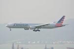 LEGACY-747さんが、香港国際空港で撮影したアメリカン航空 777-323/ERの航空フォト(写真)