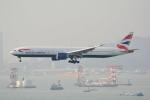 LEGACY-747さんが、香港国際空港で撮影したブリティッシュ・エアウェイズ 777-336/ERの航空フォト(飛行機 写真・画像)