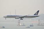 LEGACY-747さんが、香港国際空港で撮影したシンガポール航空 777-312/ERの航空フォト(飛行機 写真・画像)