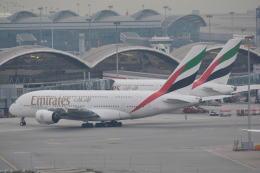 LEGACY-747さんが、香港国際空港で撮影したエミレーツ航空 A380-842の航空フォト(飛行機 写真・画像)