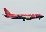 じーく。さんが、羽田空港で撮影したタイタン エアウェイズ 737-33A(QC)の航空フォト(飛行機 写真・画像)