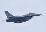 じーく。さんが、千歳基地で撮影したアメリカ空軍 F-16CM-50-CF Fighting Falconの航空フォト(写真)
